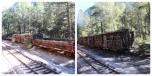 Anciens wagons