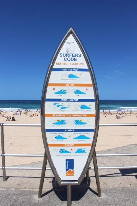 Le code des surfeurs