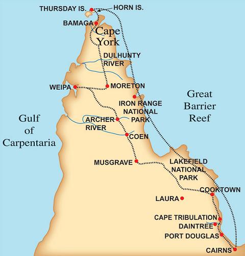 Cap York Peninsula