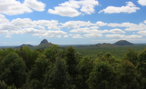 #GlassHouseMountains