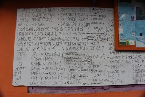 Cours de langue - VoyageDesFruits