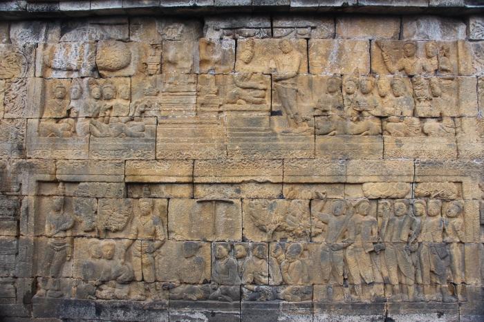 Mur Borobudur - VoyageDesFruits