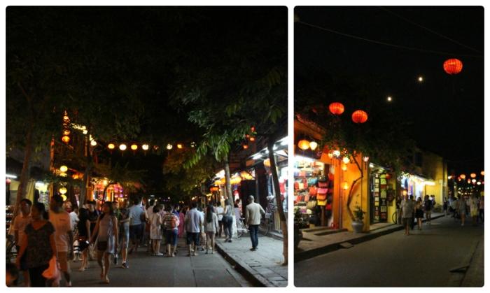 Dans les rues de Hoi An - VoyageDesFruits