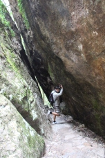 En chemin pour les Twin Falls
