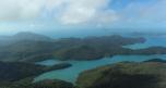 Vue sur l'archipel des Whitsundays